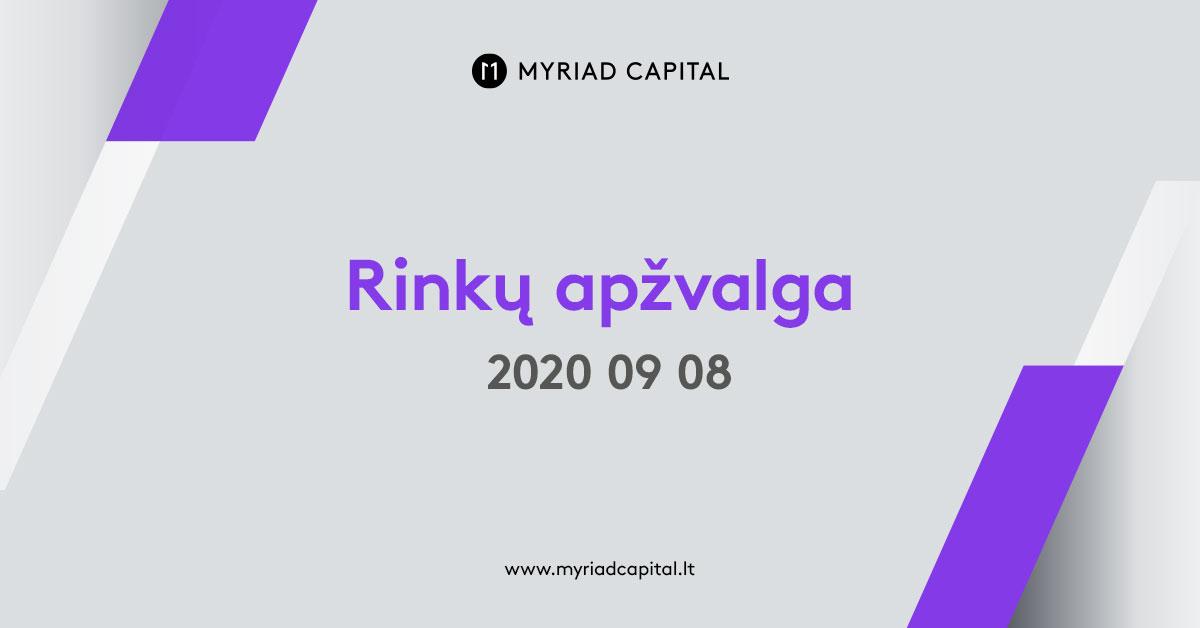 Rinkų apžvalga 2020-09-08